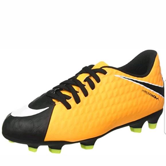 more photos 3874d 91a83 Nike Kids' Hypervenom Phade III FG-852580-801 NWT
